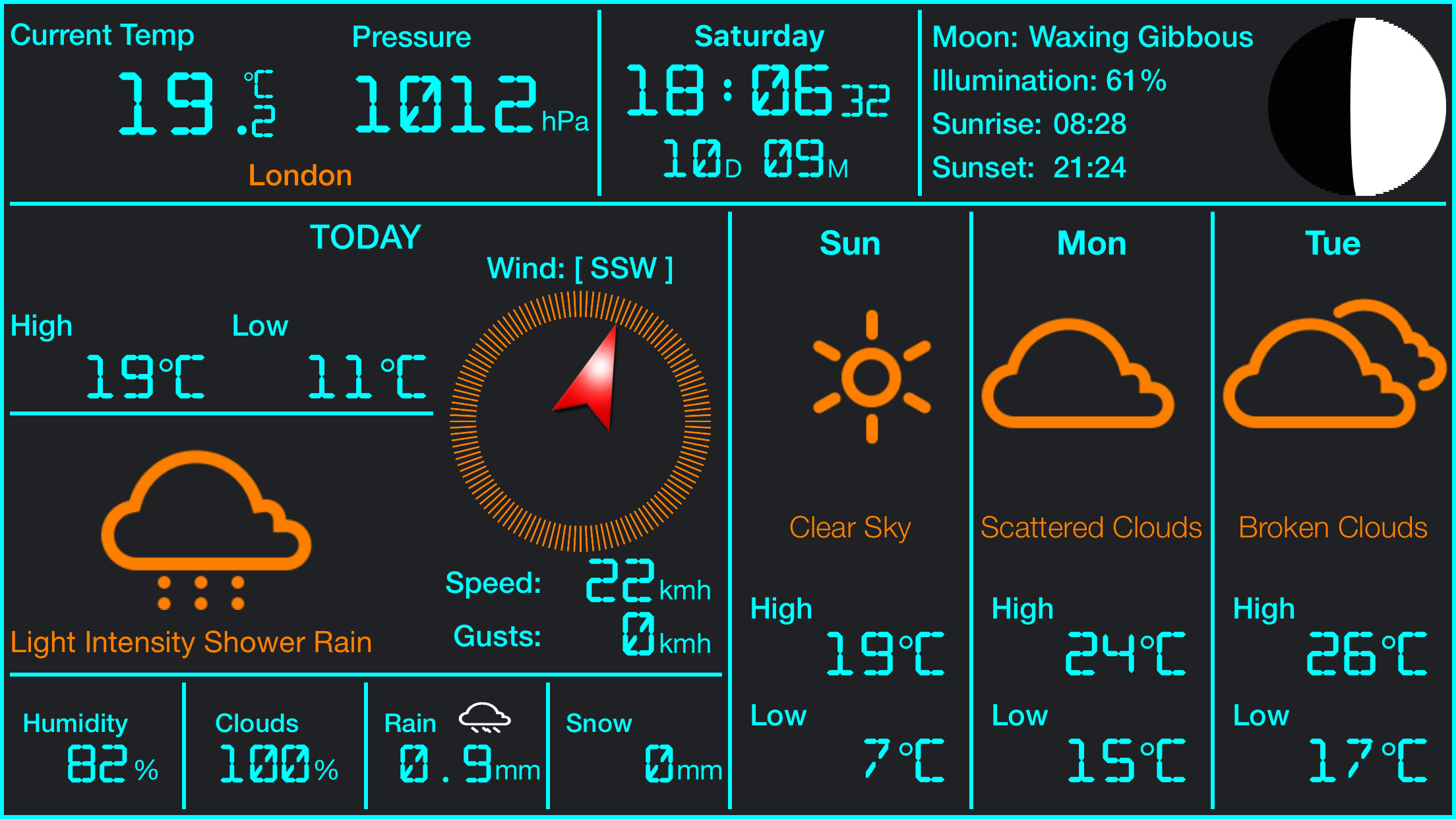 Weather Station iPhone